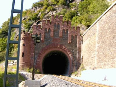 Alter Loreley-Tunnel, Südportal
