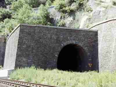 Neuer Loreley-Tunnel, Südportal (Foto: VSO)